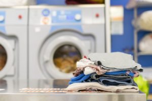 Workflow of Uber for laundry services app