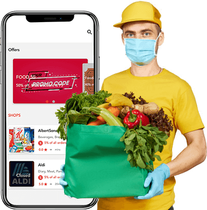 Get a fully loaded e-commerce software for efficient grocery ordering and delivery operations fr ...