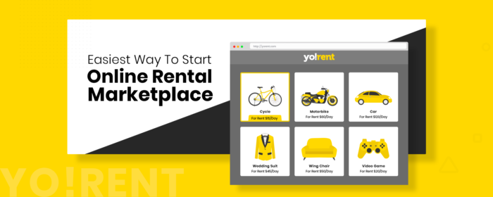 Launch A Multi-vendor Rental Ecommerce Marketplace with Yo!Rent