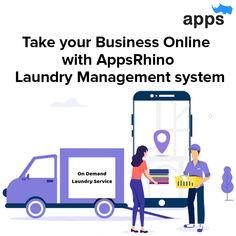 On-Demand Laundry Service App