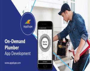 How do I create an app like uber for plumbers app