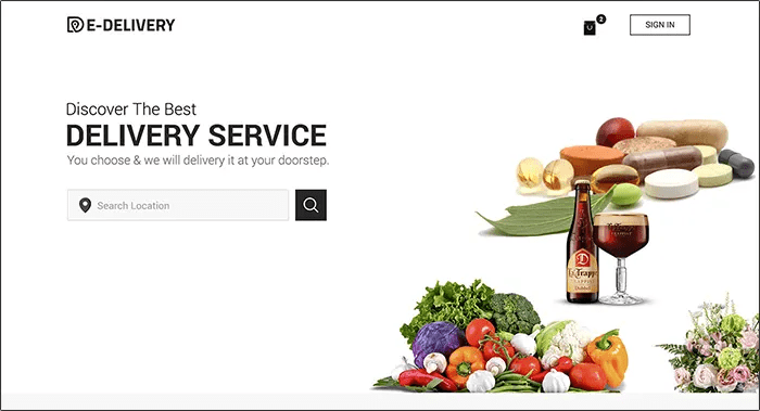 Food Delivery App Like Uber For Multi Place Restaurant Services Business