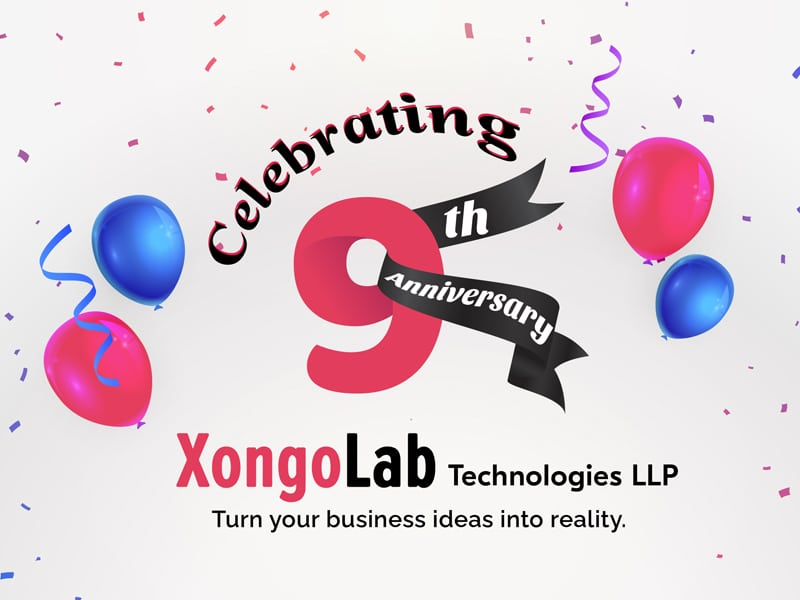 XongoLab is Celebrating 9th Years of Excellence