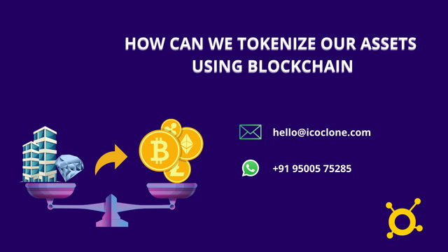 How can we tokenize our assets using Blockchain? – Icoclone