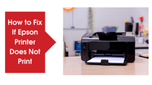 How to Fix If Epson Printer Does Not Print
