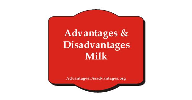 Advantages and Disadvantages of Milk | Pros Cons
