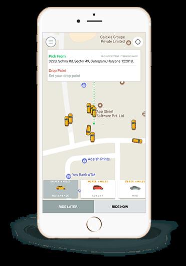 Custom App Development Like Uber | Uber Clone