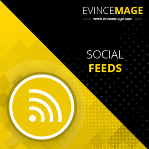 The Social Feed Magento 2 extension allows the admin to integrate social feed to the Magento sto ...