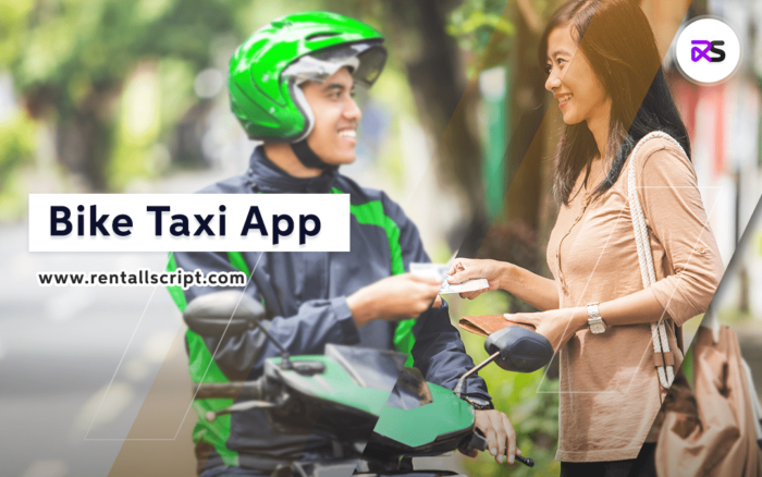 bike taxi app development