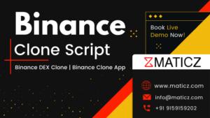 Binance Clone Script | Binance Exchange Clone | Binance DEX Clone | Binance Clone App | Maticz