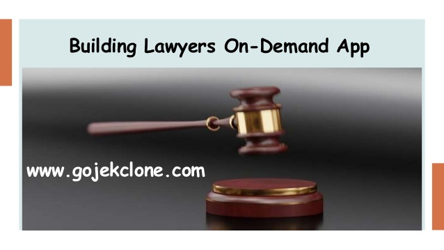 Building Lawyers On-Demand App