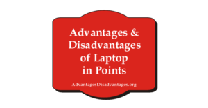 Essay on Advantages and Disadvantages of Laptop in Points