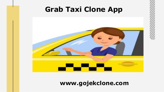 Grab taxi clone app