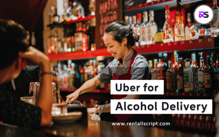 Uber for Alcohol Delivery Script