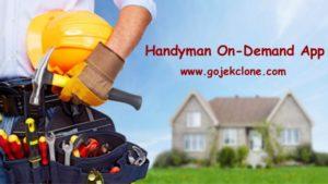 Handyman on demand app