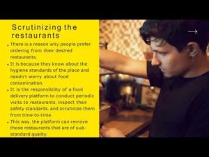 Even a minuscule carelessness of any one network can affect the entire food delivery platform, p ...