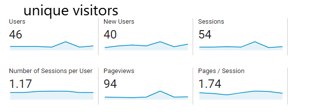 How to find unique visitors in google analytics – SEO Learning center & Backlink Strat ...