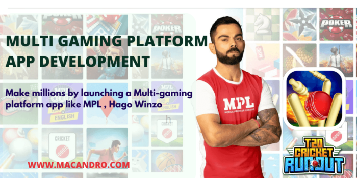 Launch your own Multi-Gaming Platform App LIke MPL in a Week | Multi Gaming App LIke Hao | MacAndro