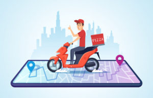 What is the future of the on-demand food delivery industry?