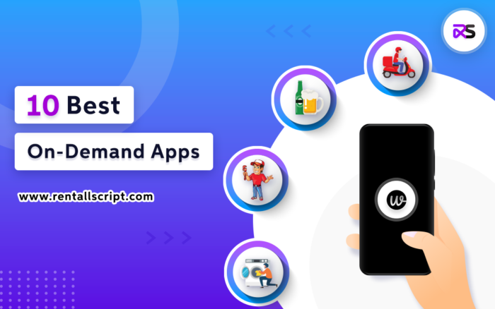 on-demand apps in the US
