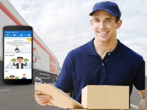 Uber For Courier Delivery | On Demand Courier Delivery App Development Services