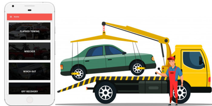 Uber-like tow truck app is a great aid in times of distress.