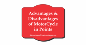 8+ Advantages and Disadvantages of Motorcycle | Motorbike