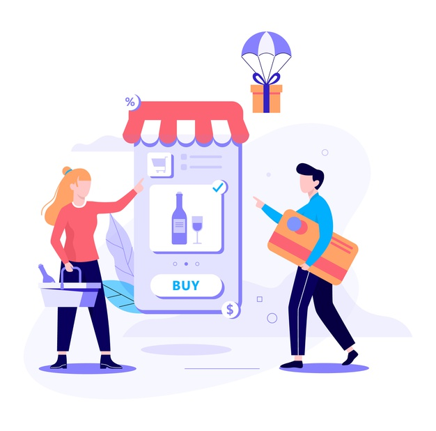 How well can an on-demand alcohol delivery app perform in the current market?