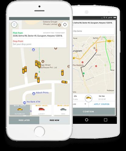 Uber Clone App Development – Solution for Startup
