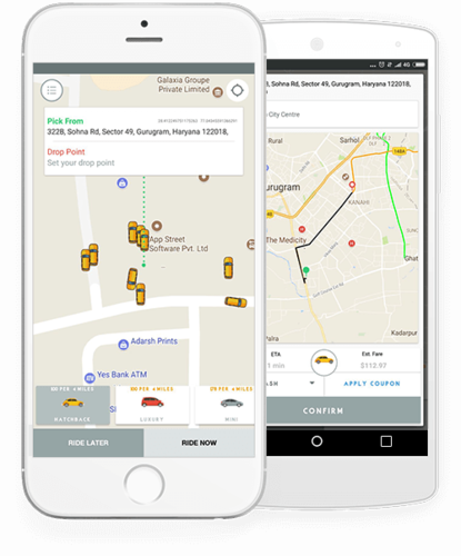 Taxi Business Growth with Uber Clone