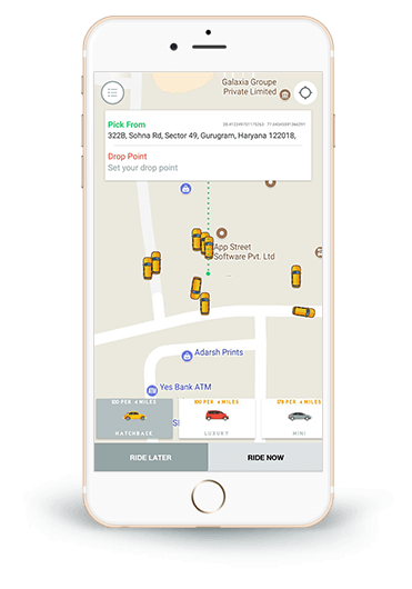 Dream Taxi Business with Uber Like App Development