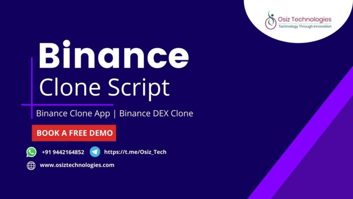 We at Osiz offer the Best Binance Clone Software with all the inbuilt features of the popular cr ...