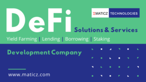 Maticz Technologies is a leading (Decentralized Finance) DeFi Development Company with a proven  ...