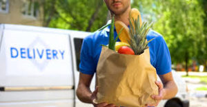 What are on-demand grocery delivery apps?