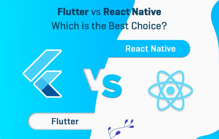 Flutter vs React Native  | hire React native development services | Das Infomedia