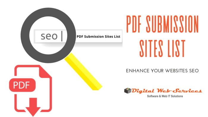 Get Best And Free PDF Submission Sites List 2020 For Enhance Your Website SEO