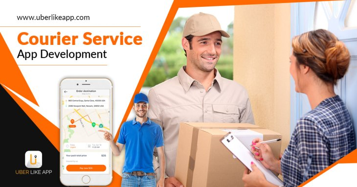 How effective are on-demand courier services apps in comparison to traditional