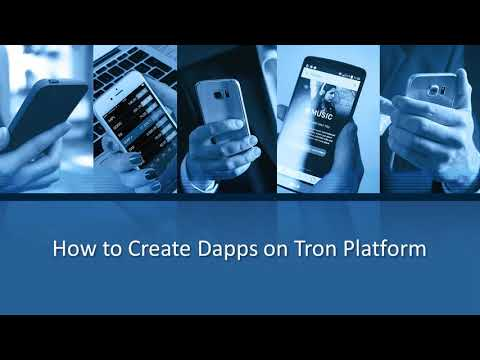 How to Create Dapps on Tron Platform – YouTube