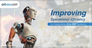 Improving Operational Efficiency by Integrating AI in ERP Systems