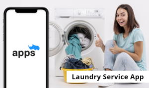 What is the mindset behind creating a laundry app?