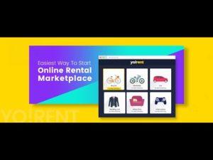 Multi-vendor eCommerce Software to Launch Rental Marketplace- Yo!Rent