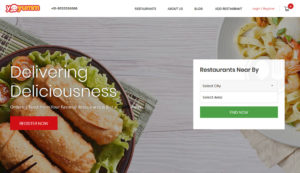 Multi-restaurant Food Ordering & Delivery Marketplace Software Solution