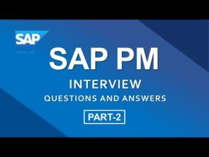 SAP PM Interview Questions and Answers  PART-2 || SAP Plant Maintenance || – YouTube