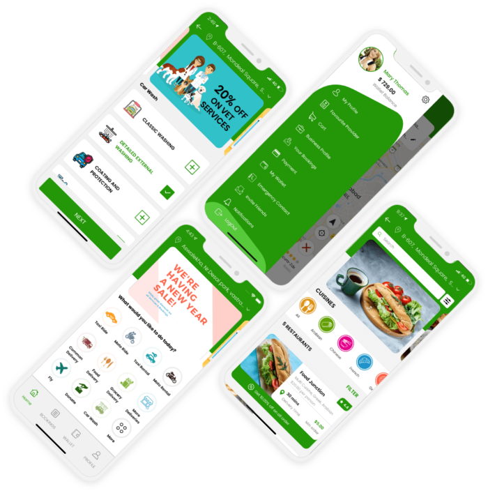 Start an on-demand multiple services business with gojek clone