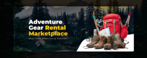 Business model & Key features of an Adventure Gear Rental Marketplace