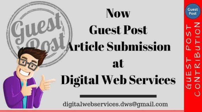 Technology Write For Us And Sharing Your Article At Digital Web Services