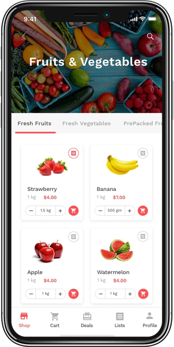 Top 5 benefits of having an on-demand grocery delivery app