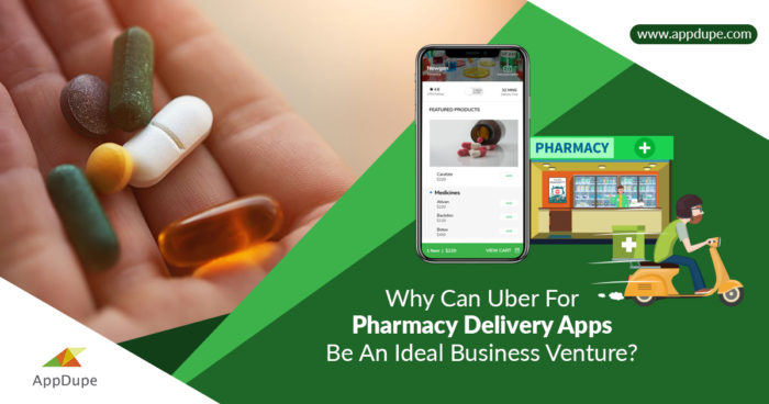 Accelerate your business by developing an Uber for Medicine delivery app.