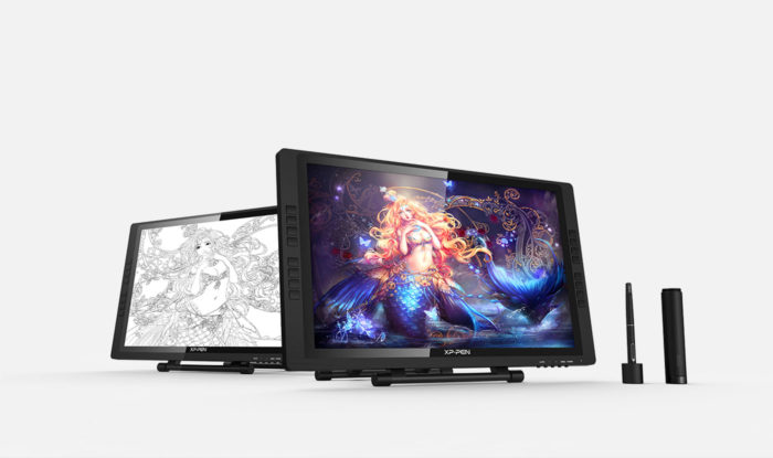 Artist 22E Pro mesa grafica com Tela de desenho digital para illustrator | XP-PEN