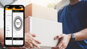 End-to-end assistance provided by Appdupe for readymade courier service app